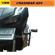 Tubular Adv 150 Crash Bar Protector Body Protector Guard Honda Adv