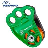 DMM 三孔滑輪 Hitch Climber Eccentric PUL500GR 綠色