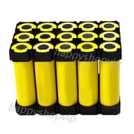 10PCS Black 21700 3x5 Battery Holder Cell Safety Brackets for 21700 Batteries