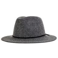 Brixton Wesley Fedora 紳士帽 (毛呢灰)《Jimi Skate Shop》