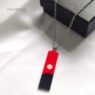 Anime Tokyo Revengers Izana Kurokawa Necklace Cosplay Leather Pendant Necklace For Women Fashion Jewelry Accessories