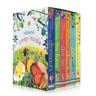 Usborne Peep Inside Box Set (6 Books)