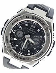 Casio CASIO G shock G - SHOCK G steel G - STEEL quartz mens watch GST - S310 - 1 black [parallel...