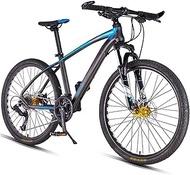 Mmsh Mountain Bikes, Dual Disc Brake Hardtail Mountain Bike, Mens Women Adult All Terrain Mountain Bike, Adjustable Seat & Handlebar
