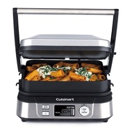 Qeom [Stock Ready, Dispatch Next Day] Cuisinart GR5NHK tal Grill Five and Deep Pan Griller Griddler With Removable Plate