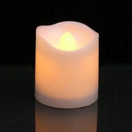 sqamin Flickering Flameless Candles LED Tealight Candles-Pack Of 12-Beautiful And Elegant Unscented LED Candles - intl