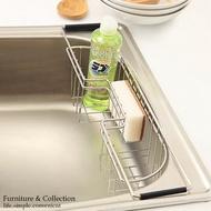 Peachy life 不鏽鋼水槽洗碗精側掛籃