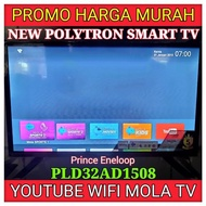 PROMO MURAH SMART LED TV POLYTRON PLD32AD1508 32 INCH GARANSI 5 TAHUN