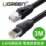 【綠聯】3M CAT8網路線(25Gbps電競級網路線)