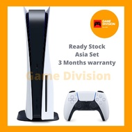 (Pre Order)  PlayStation 5 PS5 825GB Disc Version (Malaysia Set)