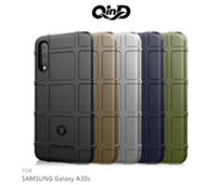 QinD SAMSUNG Galaxy A30S 手機殼 手機保護套 戰術護盾保護套 半覆式手機殼 保護殼