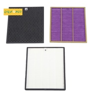 AC4121+AC4123+AC4124 Filters Kit for Philips AC4002 AC4004 AC4012 Air Purifier P