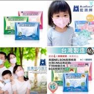 台灣製🇹🇼🇹🇼藍鷹牌   幼童4-6歲四層立體型防塵用口罩。 一盒50入(實際適用年齡2-6歲)