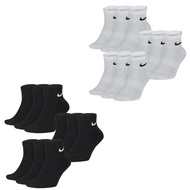 【NIKE 耐吉】Dri-FIT  Lightweight Training Socks 9雙 1 Pack 黑 白色(SX7677010_3 SX7677100_3)