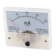 AXA 85C1-A Square Current Testing Panel Gauge Analog Ampere Meter DC 200mA - intl