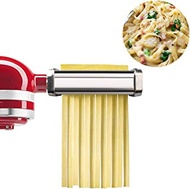 Pasta Maker Roller Attachments for Kitchenaid Stand Mixer,Stainless Steel,Mixer Accessory