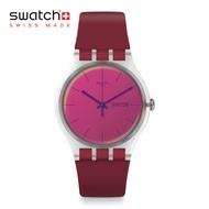 Swatch New Gent POLARED SUOK717 Red Silicon Strap Swatch