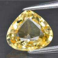 Yellow sapphire 錫蘭天然黃剛玉 1.47克拉 附GLC證書無燒無處理~全新現貨