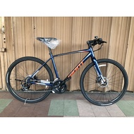 Giant Escape 2 HYBRID BIKE 700 Road 48.5 cm Bicycle M size Alloy 11 kg Touring Basikal Shimano 21S New