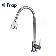 YOHO frap SINGLE Cold stainless STEEL Universal KITCHEN faucet Y40126-2