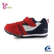 月星童鞋 moonstar矯正機能鞋 Hi系列 機能童鞋 後跟穩定 男童運動鞋 J9619#紅色◆奧森鞋業