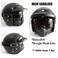 Helm cargloss AHRS, Helm cargloss Retro Surabaya, Helm cargloss Full face Terbaru, Helm cargloss dof