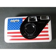 二手KONICA U-mini美國國旗圖案底片傻瓜相機