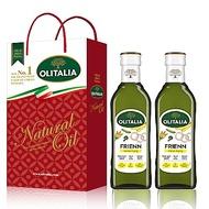 Olitalia奧利塔 高溫專用葵花油禮盒組(500mlx2瓶)