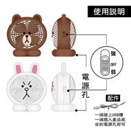 熊大兔兔電風扇