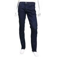 TRUSSARDI 370 CLOSE 深藍色中腰修身牛仔褲(男款)