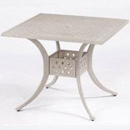 【舒福家居】編織方桌/餐桌/咖啡桌椅/民宿/飯店/農園/營業用桌椅/鋁合金桌椅