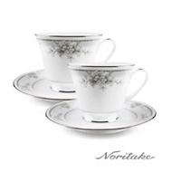 【日本Noritake】天使花環對杯禮盒