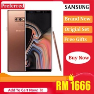 "[Brand New] Original Samsung Galaxy Note 9 Note9 128G ROM 6G RAM 4G LTE Octa Core Phone Unlocked Mobile Phone Snapdragon 845 Octa Core 6.4"" Dual 12MP RAM 6GB NFC"