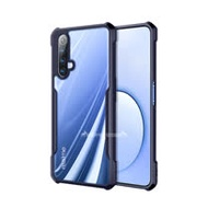 XUNDD 軍事防摔 realme X50 5G / X3 共用 清透保護殼 手機殼(海軍藍)