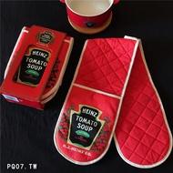 ☀美式懷舊 HEINZ 亨氏 Tomato soup 番茄湯 隔熱手套
