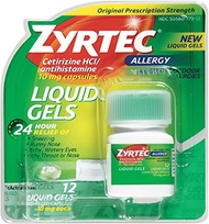 ▶$1 Shop Coupon◀  Zyrtec Allergy 10 mg Liquid Gels 12 ea (7 Pack)