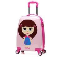 กระเป๋าเด็กการ์ตูนเด็กกระเป๋าเดินทางชุดรับฝากสัมภาระกระเป๋าเดินทางล้อลากล้อ18/20นิ้วรถเข็นเด็กกระเป๋าเดินทาง