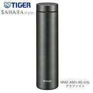 日本Tiger虎牌 輕量 不鏽鋼真空寬口保冷 保溫瓶 水壺 / 深灰色 / 600ML / MMZ-A601-KG /日本必買 日本樂天代購直送 (3230)