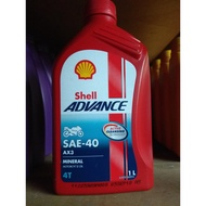 Shell AX3 4T Mineral Motorcycle Oil
