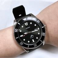 Cochon]casio 黑色 手錶 槍魚