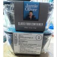 Jamie Olive方形耐熱玻璃保鮮盒 470ML♥