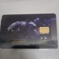 Gold Bar 1 gram Amethyst