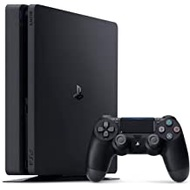 2020 Playstation 4 PS4 1TB Slim Gaming Console with Oydisen HDMI Cable - Black