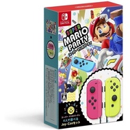 Super mario party and Joy-Con (Neon Pink  Neon Yellow) [Limited Edition]