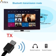 Bluetooth 5.0 Receiver AUX USB Wireless  Adapter For Home TV MP3 PC Car ALSG