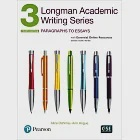 Longman Academic Writing Series 3: Paragraphs to Essays with Essential Online Resources, 4/e (access code inside)