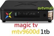 MAGIC TV - MAGIC TV MTV9600D 1TB 4K HDR ANDROID + SET TOP BOX 高清錄影機頂盒 雙系統 dual tuner