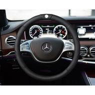 精品 原生 牛皮 汽車 方向盤套 賓士 GLA GLK C E B BENZ AMG cla 方向盤 w205 GLC