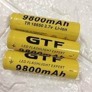 電池專賣店18650充電鋰電池 3.7V 手電筒專用 9800mAh 進口電芯 小風扇電池(40元)