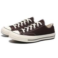 【CONVERSE】CHUCK TAYLOR ALL STAR 1970 70S 巧克力 奶油頭 黑標 帆布鞋 低筒 男女(170554C)